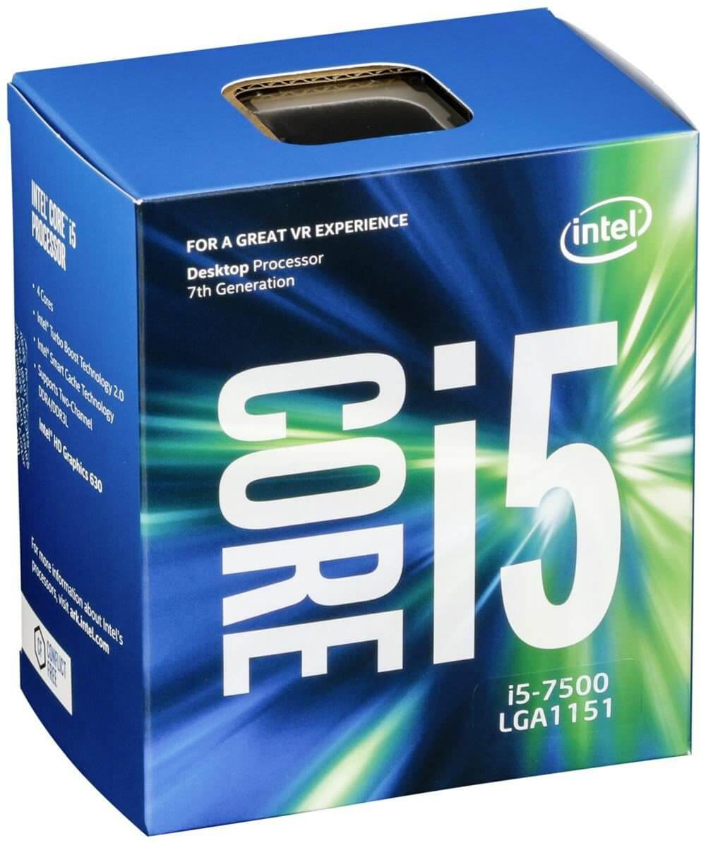 Intel® Core™ i5-7500 Processor 6M Cache, up to 3.80 GHz