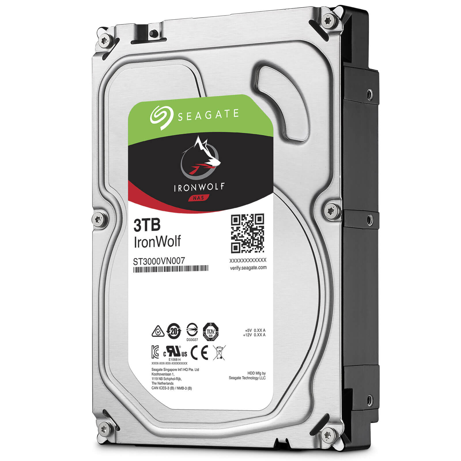 HDD Seagate IronWolf 3TB/64MB/3.5